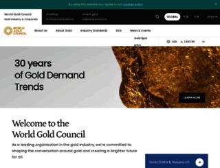 gold.org screenshot
