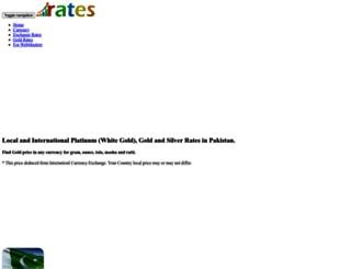 gold.rates.com.pk screenshot