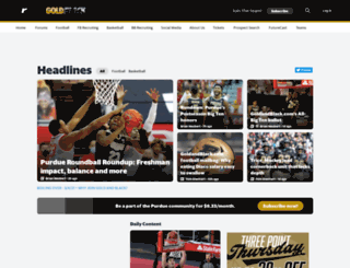 goldandblack.com screenshot