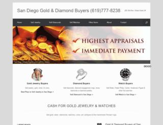 goldanddiamondbuyerssandiego.com screenshot