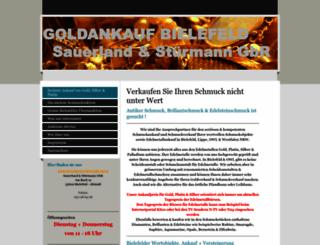 goldankauf-bielefeld.info screenshot