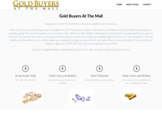goldbuyersatthemall.com screenshot