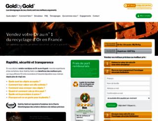 goldbygold.com screenshot