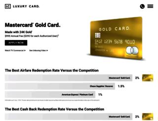 goldcard.com screenshot