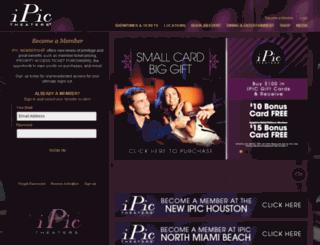 goldclasscinemas.com screenshot