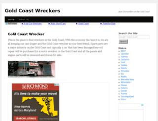 goldcoast-wreckers.com screenshot
