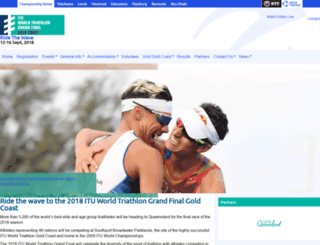 goldcoast.triathlon.org screenshot