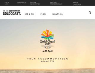 goldcoasttourism.com.au screenshot