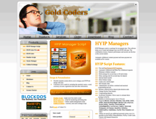 goldcoders.com screenshot