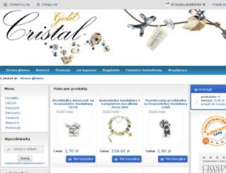 goldcristal.eu screenshot