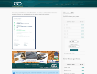 goldealers.co.uk screenshot