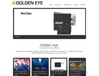 golden-eye.nl screenshot
