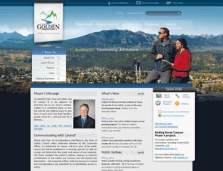 golden.ca screenshot