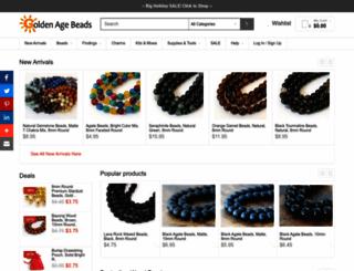 goldenagebeads.com screenshot