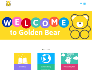 goldenbeartoys.com screenshot