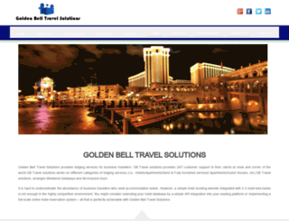 goldenbelltravelsolutions.com screenshot