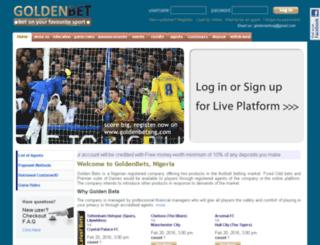 goldenbetsng.com screenshot