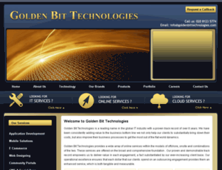 goldenbittechnologies.com screenshot
