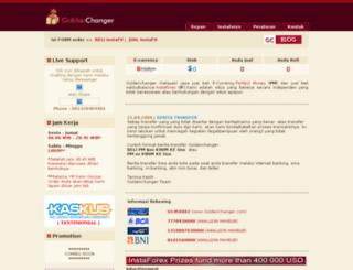 goldenchanger.com screenshot