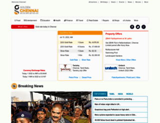 goldenchennai.com screenshot