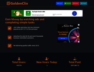 goldenclix.com screenshot