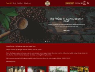 goldencoffee.vn screenshot