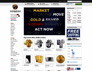 goldeneaglecoin.com screenshot