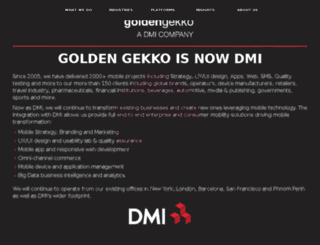 goldengekko.com screenshot