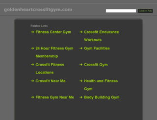 goldenheartcrossfitgym.com screenshot