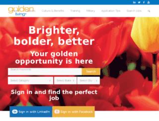 goldenliving.jobs screenshot