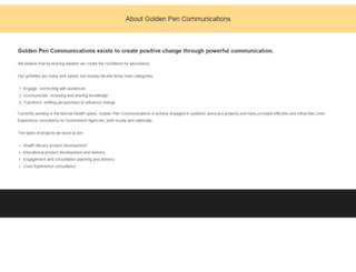 goldenpen.com.au screenshot