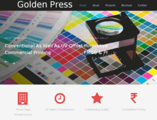goldenpressservices.com screenshot