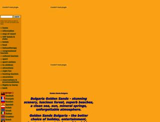 goldensands.bg screenshot