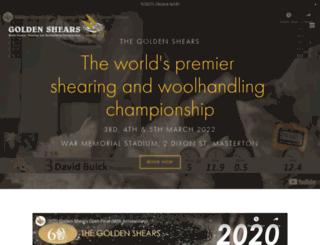 goldenshears.co.nz screenshot