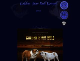 goldenstarbull.com screenshot