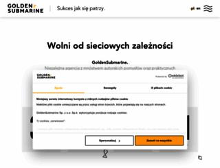 goldensubmarine.com screenshot