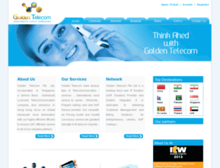 goldentelecom.com.sg screenshot