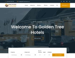 goldentreehotelsuitesltd.com screenshot