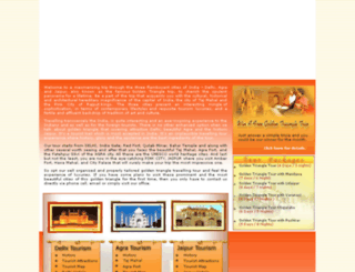 goldentriangleindia.rajasthan-travel-tour.com screenshot