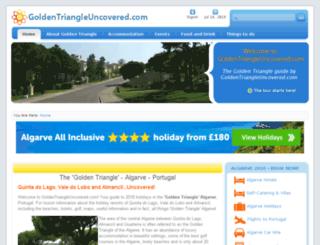 goldentriangleuncovered.com screenshot