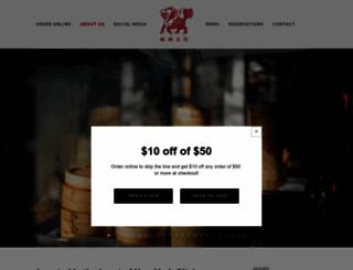 goldenunicornrestaurant.com screenshot