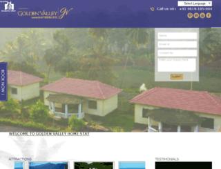 goldenvalleyhomestay.com screenshot