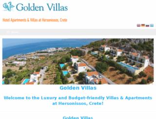 goldenvillas.gr screenshot