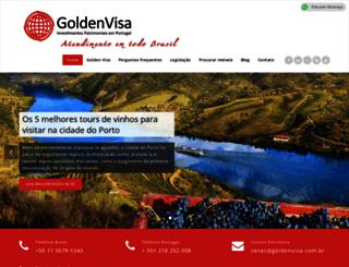 goldenvisa.com.br screenshot