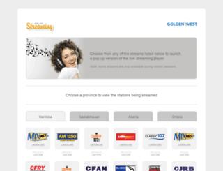 goldenweststreaming.com screenshot