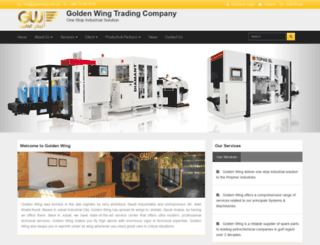 goldenwing.com.sa screenshot