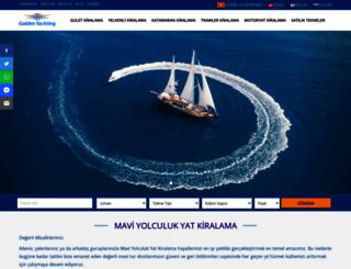 goldenyachting.com screenshot