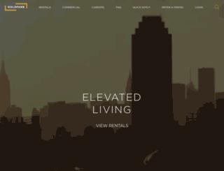 goldfarbproperties.com screenshot