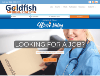 goldfishmedical.com screenshot