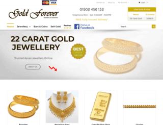 goldforever.co.uk screenshot
